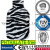 Zebra del leopardo del coperchio della bottiglia di acqua di FurHot del Faux della peluche
