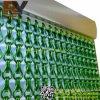 Rideaux en guichet à chaînes de chaîne de tige de crochet en métal
