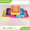 よりよい生命Easylunchは自由なプラスチックサンドイッチ容器の食糧容器のピクニック食事ボックスBPAを囲む