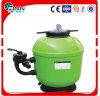 緑色のプールの水処理システム