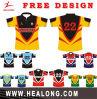 Camisa por atacado barata Sublimated Jersey de Unifrom do rugby do projeto de Healong o costume o mais atrasado