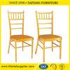 宴会のChiavari Tiffanyの椅子の金をスタックする耐久の鉄