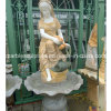Stand Flouring Stone Sculpture 숙녀 샘 (SY-F057)