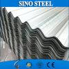 Hoja acanalada galvanizada del material para techos del cinc de acero del hierro