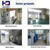 Producción del alimento y de la bebida que procesa el equipo de la desinfección
