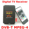 2 afinadores MPEG-4 Car DVB-T para a tevê Receiver de Car Digital (M-618)