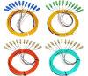12/24/48 câble de rubrique de tresse de fibre optique de faisceaux