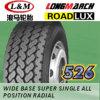 Longmarch Roadlux Truck Tire mit Inner Tube und Flap