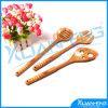 Ensemble de 3 Bamboo Spoon Fork Spatula avec Holder