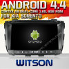 Witson Android 4.4 Car DVD para KIA Sorento com A9 o Internet DVR Support da ROM WiFi 3G do chipset 1080P 8g