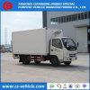 Foton 4X2 Kühlraum-LKW Kühlraum-Gefriermaschine-Ladung Van5tons Small