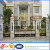装飾用のDriveway Economical Residential Wrought Iron Gate (dhgate-12)