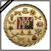 монетка сувенира монетки Platimg золота 3D воинская (BYH-10855)