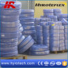 Tuyau tressé de vente de fibre colorée chaude de PVC