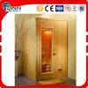 Quarto seco interno da sauna do vapor de 2 pessoas