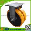 Industrial resistente Caster con Polyurethane Twin Wheels