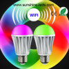 2014 New caliente 7W RGB/Warm White LED Bulb