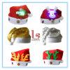 Chapéu de piscamento do diodo emissor de luz Papai Noel da decoração do Natal para miúdos e adultos