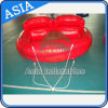 Heißes aufblasbares Wasser-Spiel Towable aufblasbares verrücktes UFO, lustige Wasser-Spielwaren für Person 2