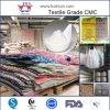 Celulosa auxiliar de Carboxy Metilo de los agentes de la carboximetilcelulosa de la viscosidad inferior de la materia textil química de gran viscosidad del sodio