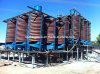 Organigramma dell'impianto di lavorazione della cromite di 100 Tph