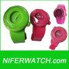 실리콘 다채로운 실리콘 시계 (NFSP048)