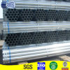 Hohles Section Round Galvanzied Pipe mit Plastic Cap (SP061)