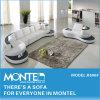 方法ソファーセット、フランス様式のホーム家具の部門別の現代革ソファー