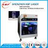 grabador interno de la etiqueta de plástico del laser de la luz verde del vidrio cristalino 3D