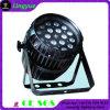 屋外DJ 18X12W RGBWの段階ライトLEDズームレンズの同価