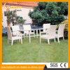 Interior / Outdoor Jardim Restaurante Móveis Rattan Dining Chair and Table Set