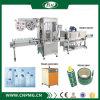 Máquina de etiquetado automática de la funda del encogimiento de una capacidad más alta para las escrituras de la etiqueta del PVC