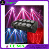 DMX 8PCS10W 거미 백색 LED 이동하는 맨 위 광속 빛