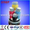 Алюминиевый PVC Insualted кабеля 4X95mm2 и кабель оболочки