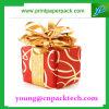 Rectángulo de regalo de empaquetado del Bowknot de la cartulina encantadora de la Navidad