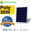 Panneau solaire du transport gratuit 12V 25W 30W