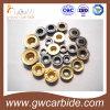 CVD PVDのコーティングが付いている炭化物のIndexable回転製粉の挿入