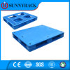 Pálete plástica resistente de uma superfície 1200*1200 plana para o racking do armazenamento do armazém