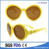 Eyeglasses encantadores da lente de Brown da promoção do frame da forma da flor dos miúdos