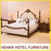 Base gigante de madera de la cama imperial del palacio de la última cereza del diseño