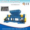 Défibreur de réutilisation en plastique de double arbre de PVC d'animal familier de PE de l'ABS pp