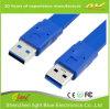 Mâle plat de câble de caractéristiques USB3.0 au mâle