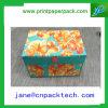 Rectángulo de almacenaje de empaquetado del regalo de papel rígido del OEM