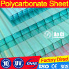 Het Blad van het Polycarbonaat van Bouwmaterialen, de Nieuwe Plastic Materialen van het Dakwerk