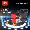 De Machine van het Lassen IGBT MMA met Plastic Geval (igbt-180E/200E)