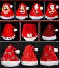 Chapeau de Noël de peluche pour des adultes et des gosses