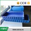 Caixa de armazenamento plástica da alta qualidade de Tjg no armazém, escaninhos Stackable combinados da prateleira do armazenamento