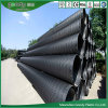 HDPE tubo hueco de espiral de plástico para el drenaje