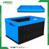 Caixa de armazenamento plástica dobrável contínua da alta qualidade