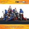 Equipamento ao ar livre do campo de jogos de 2015 crianças da série do navio de espaço (SP-08301)